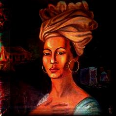 Marie Laveau Legendary Voodoo Queen Portrait