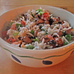 Bowl of Hoppin John - Foods that bring luck in the new year