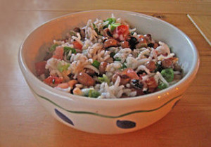 Hoppin John - Foods that bring luck in the new year