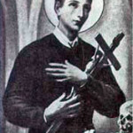 Saint Gerard Majella with Cross- the catholic counterpart to the Lwa Baron Samedi