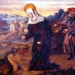Saint Martha as shown in the article Saint Martha's Day