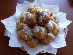 Bunuelos de todos los santos - Halloween and All Saints Day
