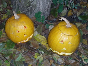 Carved Halloween Pumpkins - Halloween and All Saints Day post