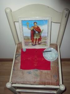 Simbi Makaya is associated with Saint Expedite
