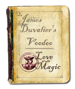 James Duvalier's Voodoo Love Magic Book