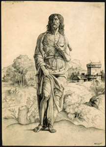 John the Baptist shown in James Duvalier's article Saint John's Eve