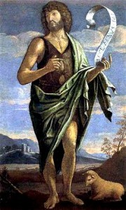 Saint John the Baptist- Saint John's Eve