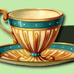 Vintage Tea Cup - Money Drawing Spell
