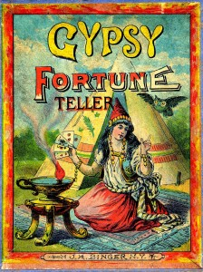 Gypsy Cleansing and Blessing:  James Duvalier - Vintage Gypsy Fortune Teller Image