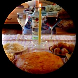 Mange Mo Spirit Feast Voodoo Food Offerings - James Duvalier