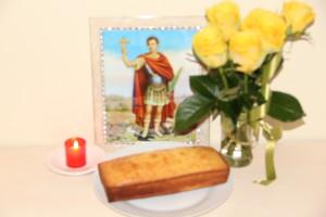 Pound Cake for Saint Expedite