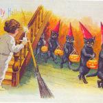 Bizarre Vintage Halloween Postcards (1)